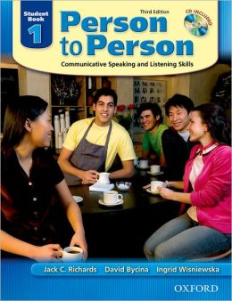 Person to Person Third Edition 1 Student Book (with Student Audio CD)