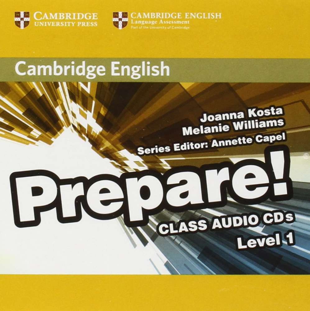 Cambridge English Prepare! Level 1 Class Audio CDs (2) (Лицензия)