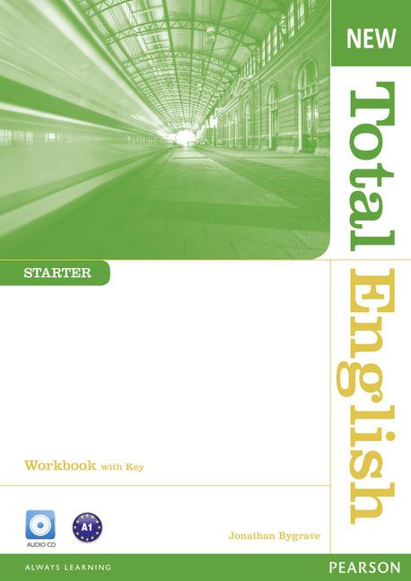New Total English Starter Workbook (with Key) and Audio CD
