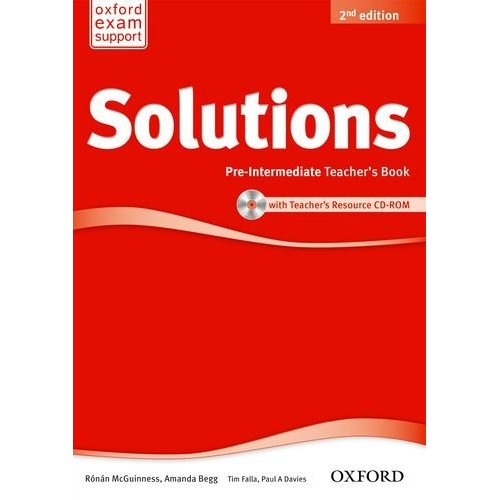 Solutions Second Edition Pre-intermediate Teacher's Book and CD-ROM Pack