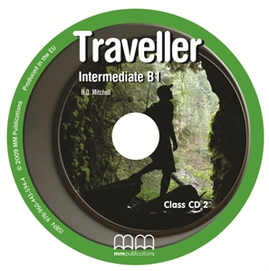 Traveller Intermediate B1 Class CDs