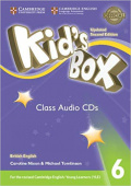 Kid's Box Updated edition 6 Class Audio CDs (4)