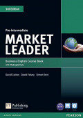 Market Leader 3rd Edition Pre-Intermediate Coursebook and DVD-ROM Pack with MyEnglishLab