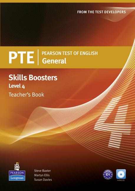 PTE General Skills Booster 4 Teacher's Book (with Audio CD)