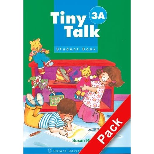 Tiny Talk 3 Pack (A) (Student Book and Audio CD)