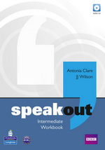 Speakout Intermediate Workbook without key with Audio CD