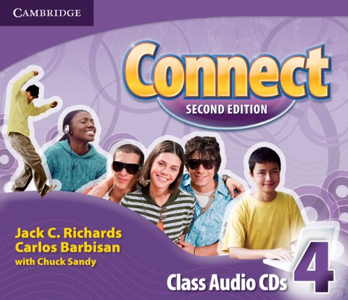 Connect Second Edition: 4 Class Audio CDs (3)