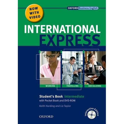 International Express, Interactive Editions Intermediate Student's Pack: (Student's Book, Pocket Book & DVD)