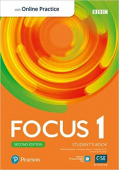 Focus 2e Edition 1 Student's Book with PEP Standard Pack (+OnlinePractice)