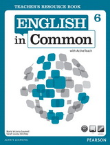 English in Common 6 Teacher's Resource Book with ActiveTeach