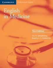 English in Medicine (Third Edition) Book