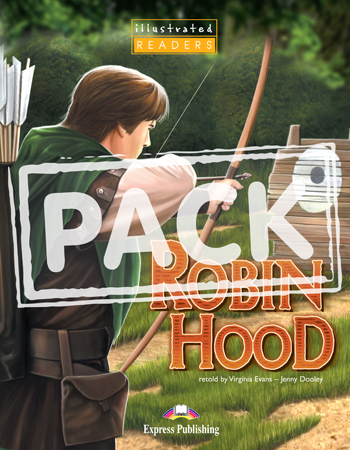 Illustrated Readers Level 1 Robin Hood  (+ Audio CD)