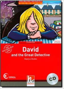 Red Series  Graphic Fiction Level 1: David and the Great Detective + CD