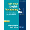 Test Your English Vocabulary in Use (Third Edition)