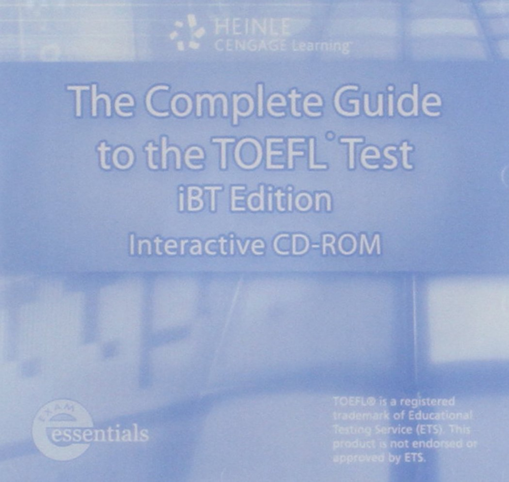 The Complete Guide to the TOEFL (IBT Edition) CD-ROM