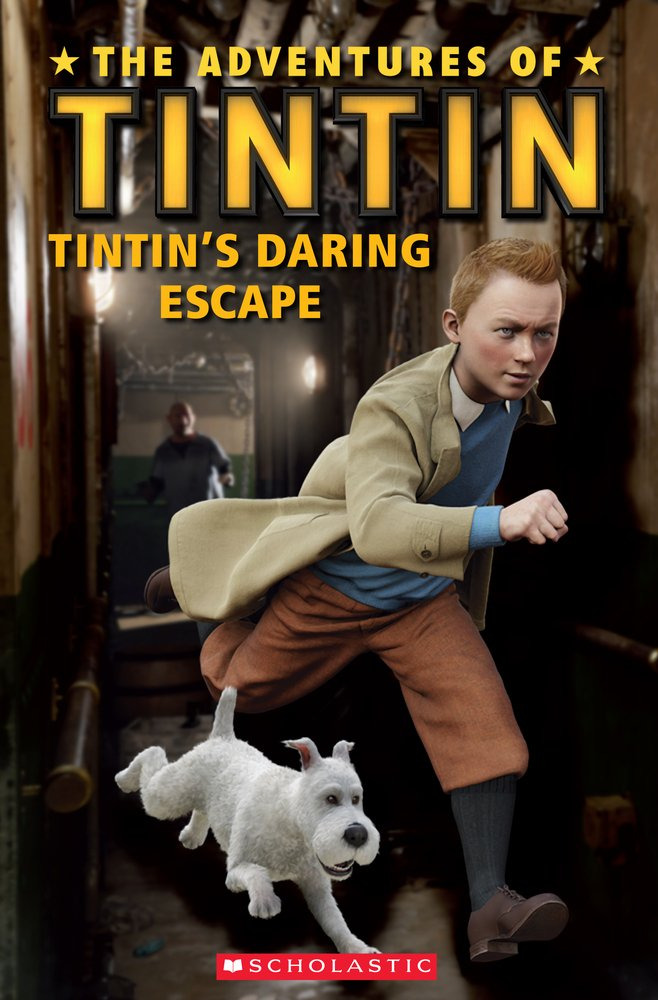 Level 1: The Adventures of Tintin: Tintins Daring Escape + Audio CD