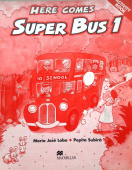 Here Comes Super Bus 1 Activity Book Swiss Edition