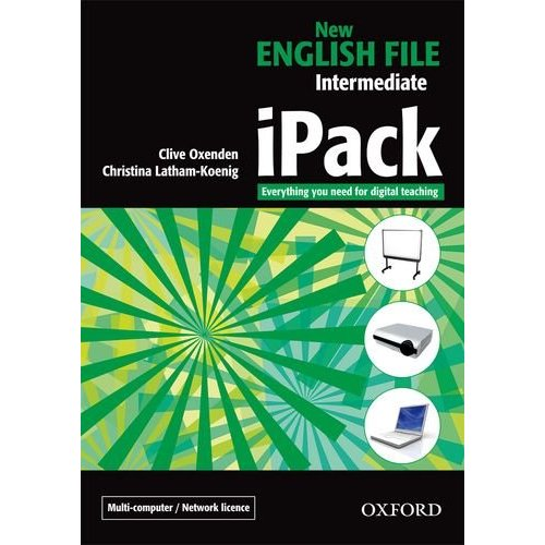 New English File Intermediate iPack (multiple-computer/network)