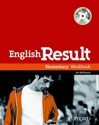 English Result Elementary Workbook With Answer Booklet