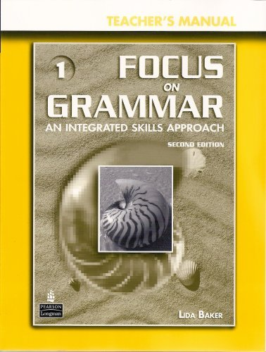 Focus on Grammar 3rd Edition Level 1 Teacher's Manual + CD-ROM