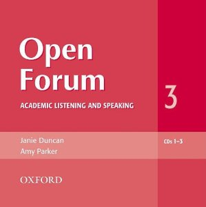 Open Forum 3 Audio CDs (3)