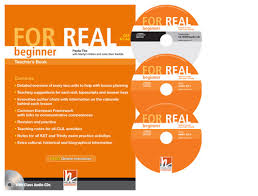 For Real Beginner Teacher's Pack (TB + TRB) with CD/CD-ROM