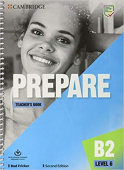 Prepare 2nd Edition 6 Teacher's Book with Downloadable Resource Pack