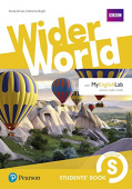 Wider World Starter Students' Book with MyEnglishLab Pack