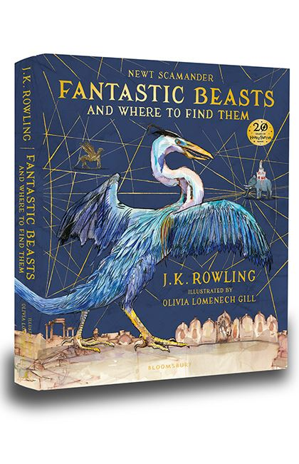Harry Potter: Fantastic Beasts and Where to Find Them (illustrated ed)