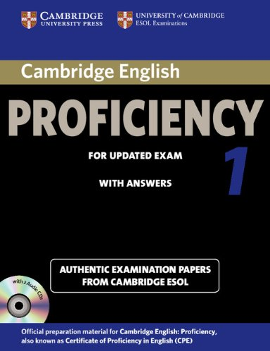 Cambridge English Proficiency 1 for Updated Exam Self-study Pack (Student's Book with answers and Au