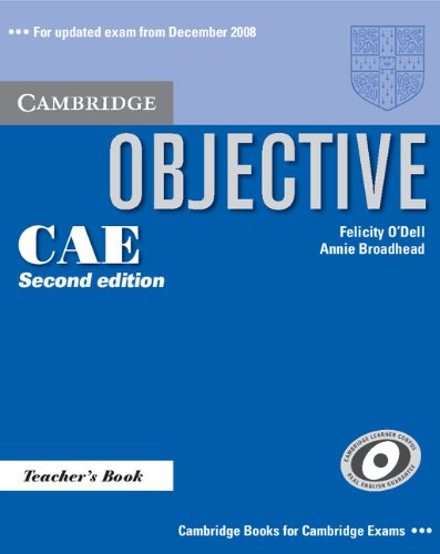 Objective CAE (Second Edition) Teacher's Book