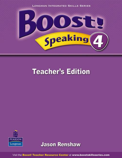 Boost Speaking 4 Teacher's Edition