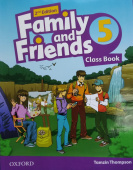 Family and Friends Second Edition 5 Class Book with Student's Site