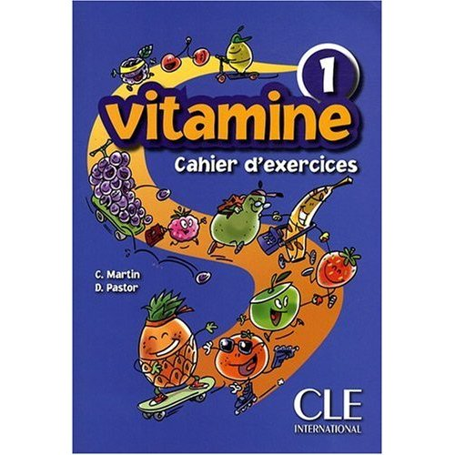 Vitamine 1 - Cahier d'exercices + CD audio + portfolio