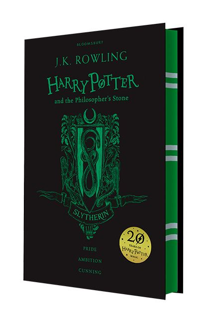 Harry Potter and the Philosopher's Stone (Slytherin Edition) - Hardback