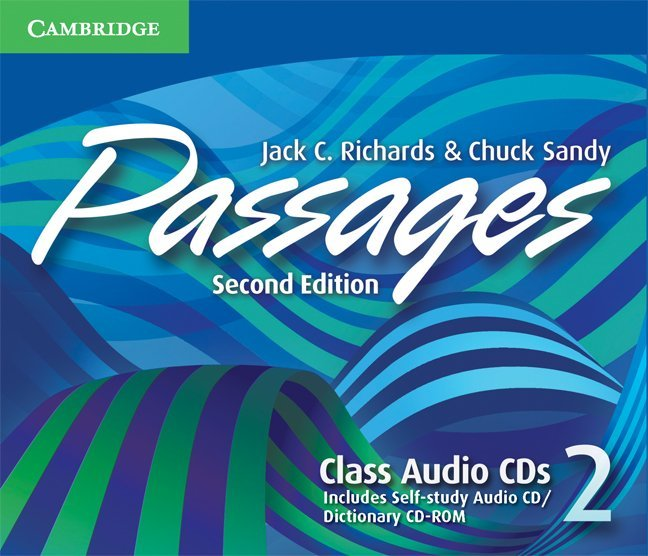 Passages Second Edition Level 2 Class Audio CDs (3) (Лицензия)