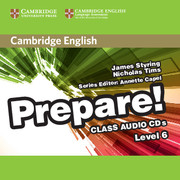 Cambridge English Prepare! Level 6 Class Audio CDs (2) (Лицензия)