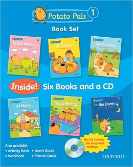 Potato Pals 1 Book Set with Audio CD