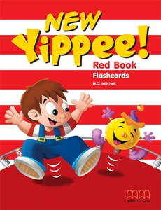 New Yippee! Red Flashcards (A4 size)