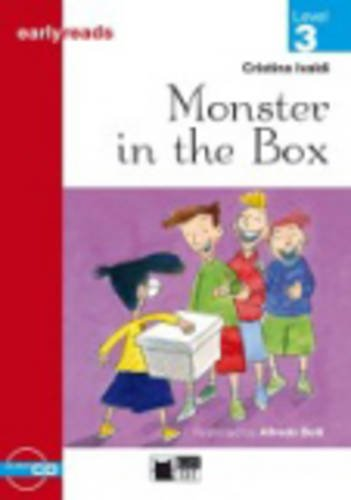 Black Cat Earlyreads Level 3:Monster in the Box with Audio CD