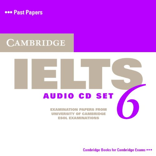 Cambridge IELTS 6 Audio CDs (Лицензия)