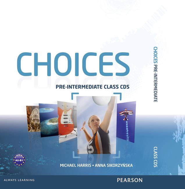 Choices Russia Pre-Intermediate Class CD's (6) (Лицензия)