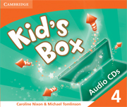 Kid's Box Level 4 Class Audio CD (3) (Лицензия)