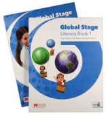 Global Stage 1 Literacy Book and Language Book with Navio App