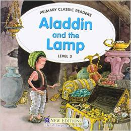 Primary Classic Readers Level 3: Aladdin and the Lamp with Audio CD