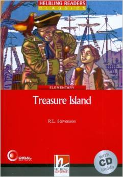 Red Series Classics Level 3: Treasure Island + CD