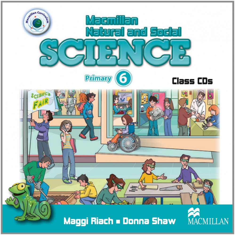 Macmillan Natural and Social Science 6 Class CD