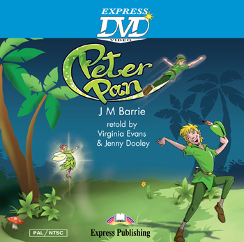 Showtime Readers  Level 1  Peter Pan DVD Video PAL/NTSC