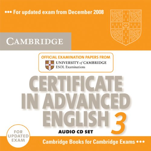 Cambridge Certificate in Advanced English 3 for updated exam Audio CDs (2) (Лицензия)