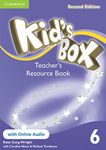 Kid's Box Second Edition 6 Teacher's Resource Book with Online Audio